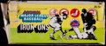 Baseball Cards:Unopened Packs/Display Boxes, 1968 Fleer Baseball Team Iron-Ons Display Box....