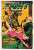Golden Age (1938-1955):Adventure, Fight Comics #45 (Fiction House, 1946) Condition: FN/VF....
