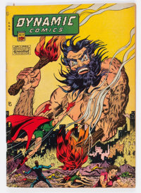 Dynamic Comics #20 (Chesler, 1946) Condition: VG