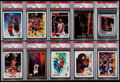 Basketball Cards:Lots, 1988-91 Michael Jordan PSA Gem MT 10 Graded Collection (10)....