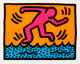 Keith Haring (1958-1990) Pop Shop Quad II (set of four), 1988 The complete set of four screenprints in colors 10-1/2...