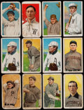 Baseball Cards:Lots, 1909-11 T206 Piedmont, Sweet Caporal & Polar Bear Collection (24)....
