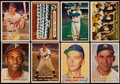 Baseball Cards:Lots, 1957 Topps Baseball Star Collection With Clemente, Berra, Bunning(8). ...