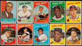 Baseball Cards:Lots, 1959 Topps Baseball Collection (700+)....