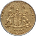 India:British India, India: British India. Madras Presidency gold Mohur ND (1819) XF45 PCGS,...