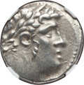 Ancients:Greek, Ancients: PHOENICIA. Tyre. Ca. 126/5 BC-AD 67/8. AR shekel (14.16gm). NGC Choice XF 4/5 - 4/5, scratch....
