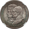 German States:Saxony, German States: Saxony. Friedrich August III 5 Mark 1909 MS67 NGC,...