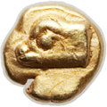 Ancients:Greek, Ancients: IONIA. Phocaea. Ca. 625-522 BC. EL 48th stater (5mm, 0.33gm). NGC (photo certificate) Choice XF 5/5 - 3/5....