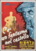 "Movie Posters:Foreign, There's a Ghost in the Castle (Rex Film, 1942). Italian Foglio (27.5"" X 39""). Foreign.. ..."