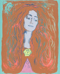 Prints:Contemporary, Andy Warhol (1928-1987). Eva Mudocci (After Munch), 1984.Unique screenprint in colors on Lenox Museum Board. 40 x 32 in...