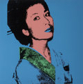 Prints, Andy Warhol (1928-1987). Kimiko, 1981. Screenprint in colors on Stonehenge paper. 36 x 36 inches (91.4 x 91.4 cm) (sheet...