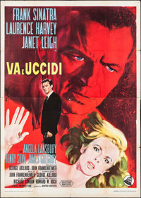 "The Manchurian Candidate (United Artists, 1963). Italian 4 - Fogli (55"" X 78""). Thriller"