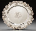 Silver Holloware, American:Platters, A Redlich & Co. Silver Platter, New York, 20th century. Marks:(lion), STERLING, 4600C, 16IN, J.E. CALDWELL & CO.16-1/4...