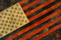 Prints, Shepard Fairey (b. 1970). Flag, 2010. Hand-painted multiple with acrylic, screenprint and collage on paper. 29 x 44 inch...