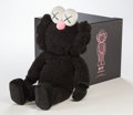 Post-War & Contemporary:Contemporary, KAWS (b. 1974). BFF, 2016. Black plush figure. 18 inches(45.7 cm) high. Ed. 1671/3000. Produced by AllRightsReserved Lt...