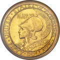 Commemorative Gold, 1915-S $50 Panama-Pacific 50 Dollar Round -- Tooled -- PCGS Genuine. AU Details...