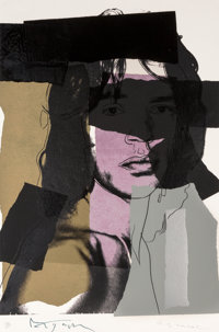 Andy Warhol (1928-1987) Mick Jagger, from the Mick Jagger portfolio, 1975 Screenprint in