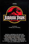 "Movie Posters:Science Fiction, Jurassic Park (Universal, 1993). One Sheet (26.75"" X 39.75"") DS.Science Fiction.. ..."