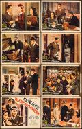"Movie Posters:Crime, Phantom of Chinatown (Monogram, 1940). Lobby Card Set of 8 (11"" X14""). Crime.. ... (Total: 8 Items)"