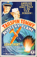 "Movie Posters:Adventure, Mystery Plane (Monogram, 1939). One Sheet (27"" X 41""). Adventure....."