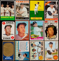1953-68 Bowman, Post & Topps Mickey Mantle Collection (41)