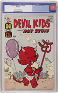 Silver Age (1956-1969):Humor, Devil Kids #1 (Harvey, 1962) CGC NM 9.4 Cream to off-white pages....