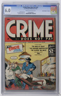 """Golden Age (1938-1955):Crime, Crime Does Not Pay #41 Davis Crippen (""""D"""" Copy) pedigree (Lev Gleason, 1945) CGC FN 6.0 Cream to off-white pages...."""