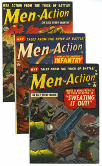 Men In Action Group (Atlas, 1952) Condition: Average FN