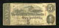 Confederate Notes:1863 Issues, T60 $5 1863. This $5 was issued in September 1863. Very Good....