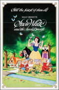 """Movie Posters:Animation, Snow White and the Seven Dwarfs & Other Lot (Buena Vista,R-1983). One Sheets (2) (27"""" X 41""""). Flat Folded. Animation.. ...(Total: 2 Items)"""