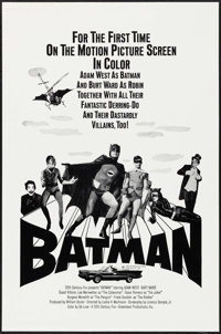 "Batman (20th Century Fox, 1966). Military One Sheet (23"" X 35""). Action"