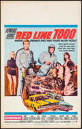 "Movie Posters:Sports, Red Line 7000 (Paramount, 1965). Window Card (14"" X 22""). Sports.. ..."