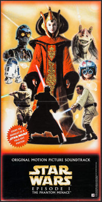 """Star Wars: Episode I - The Phantom Menace (20th Century Fox, 1999). Soundtrack Poster (12"""" X 24"""") DS. Science..."""