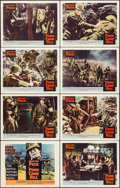 "Movie Posters:War, Pork Chop Hill (United Artists, 1959). Lobby Card Set of 8 (11"" X14""). War.. ... (Total: 8 Items)"