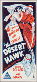 "Movie Posters:Serial, The Desert Hawk (Columbia, 1944). Australian Daybill (13.5"" X 30""). Serial.. ..."