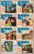 "Movie Posters:War, God Is My Co-Pilot (Warner Brothers, 1945). Lobby Card Set of 8(11"" X 14""). War.. ... (Total: 8 Items)"