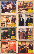 "Movie Posters:Drama, Great Guy (Grand National, 1936). Lobby Card Set of 8 (11"" X 14"")& Herald (9"" X 11.25""). Drama.. ... (Total: 9 Items)"