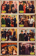 "Movie Posters:Crime, The Return of Jimmy Valentine (Republic, 1936). Lobby Card Set of 8(11"" X 14""). Crime.. ... (Total: 8 Item)"
