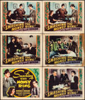 "Movie Posters:Crime, Smashing the Money Ring (Warner Brothers, 1939). Other CompanyTitle Lobby Card & Lobby Cards (5) (11"" X 14""). Crime.. ...(Total: 6 Items)"