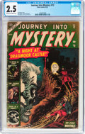 Golden Age (1938-1955):Horror, Journey Into Mystery #12 (Marvel, 1953) CGC GD+ 2.5 Cream tooff-white pages....