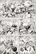 Original Comic Art:Panel Pages, Jack Kirby and Vince Colletta Superman's Pal, Jimmy Olsen#133 Story Page 11 Original Art (DC, 1970)....