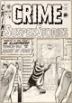 Johnny Craig Crime SuspenStories #8 Cover Original Art (EC, 1952)