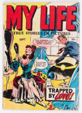 Golden Age (1938-1955):Romance, My Life #4 (Fox Features Syndicate, 1948) Condition: GD....