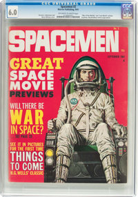Spacemen #2 (Warren, 1961) CGC FN 6.0 Off-white to white pages