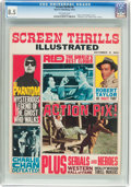 Magazines:Miscellaneous, Screen Thrills Illustrated #6 (Warren, 1963) CGC VF+ 8.5 Off-whitepages....