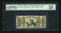 Fractional Currency:Third Issue, Fr. 1357 50c Third Issue Justice PMG Very Fine 25....