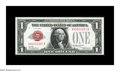 Small Size:Legal Tender Notes, Fr. 1500 $1 1928 Legal Tender Note. Choice Crisp Uncirculated.. Serial number A00000987A. Fresh and bright, but with a bit o...