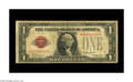 Small Size:Legal Tender Notes, Fr. 1500* $1 1928 Legal Tender Note. Very Good.. An evenly circulated and totally intact example of this very tough star. Do...