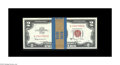 Small Size:Legal Tender Notes, Fr. 1514 $2 1963A Legal Tender Notes. Forty-six Consecutive Examples. Very Choice Crisp Uncirculated.. The band has an attac... (Total: 46 notes)