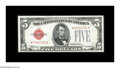 Small Size:Legal Tender Notes, Fr. 1528* $5 1928C Legal Tender Note. Very Choice Crisp Uncirculated.. A lovely example of this rather underrated star. It's...
